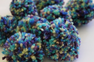 A plethora of pom poms